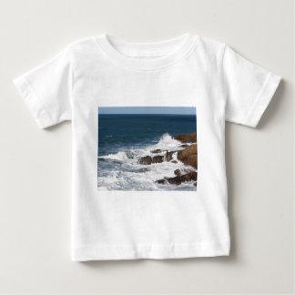 Stormy sea along Tuscany coastline Baby T-Shirt