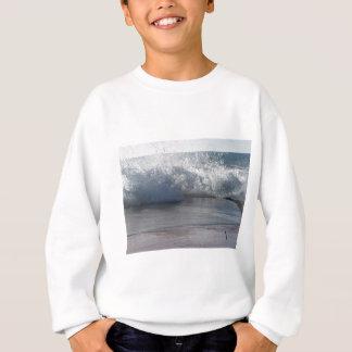 Stormy sea along Tuscany coastline Sweatshirt