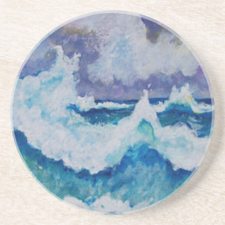 Stormy Sea Coaster
