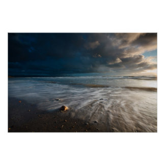 Stormy Sea. Wales Poster