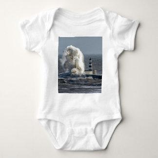 Stormy Seas at Roker Baby Bodysuit