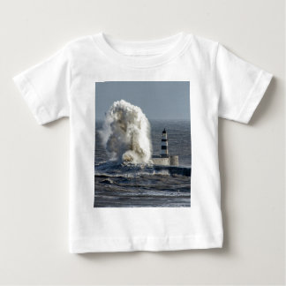 Stormy Seas at Roker Baby T-Shirt