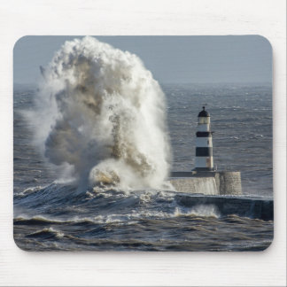 Stormy Seas at Roker Mouse Pad