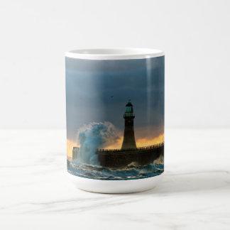 Stormy Seas at Roker Mug