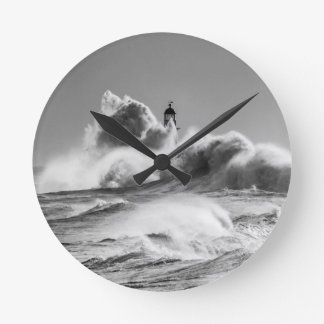 Stormy Seas at Seaham Round Clock