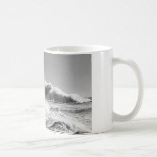 Stormy Seas at Seaham Coffee Mug