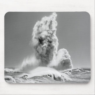 Stormy Seas at Seaham Mouse Pad