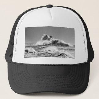 Stormy Seas at Seaham Trucker Hat