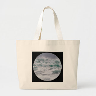 """Stormy Seas"" Canvas Bags"