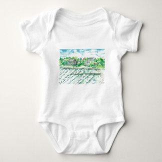 Stormy Seas - Hurricane Earl Baby Bodysuit