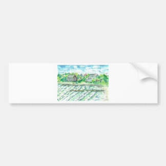 Stormy Seas - Hurricane Earl Bumper Sticker