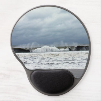 Stormy Seas of the Atlantic Ocean Gel Mouse Pad