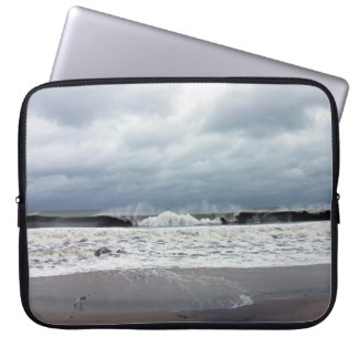 Stormy Seas of the Atlantic Ocean Laptop Sleeve