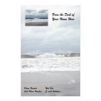 Stormy Seas of the Atlantic Ocean Stationery