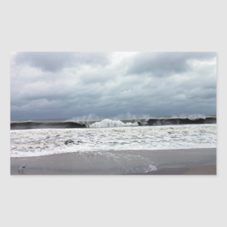 Stormy Seas of the Atlantic Ocean Stickers