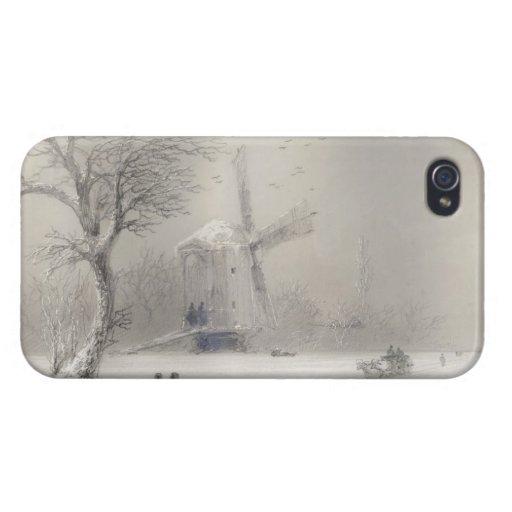 Stormy Seas off a Rocky Coast  Ivan Aivazovsky sea iPhone 4/4S Cover