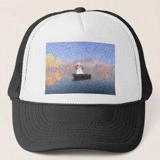 stormy seas trucker hat