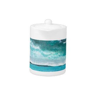 Stormy Seascape Teapot