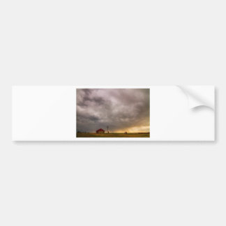 Stormy Skies On The Colorado Plains Bumper Sticker