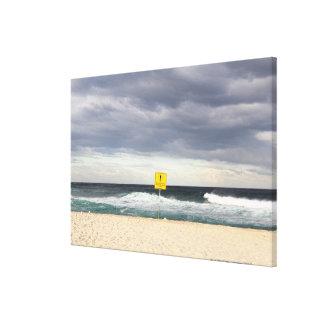 Stormy skies over Bronte Beach Canvas Prints