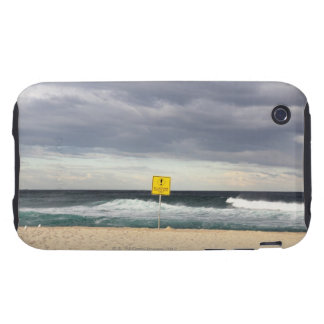 Stormy skies over Bronte Beach iPhone 3 Tough Cases