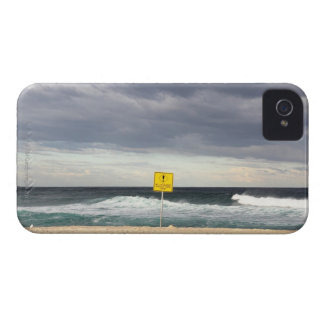 Stormy skies over Bronte Beach iPhone 4 Cover