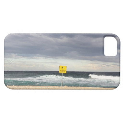 Stormy skies over Bronte Beach iPhone 5 Cover