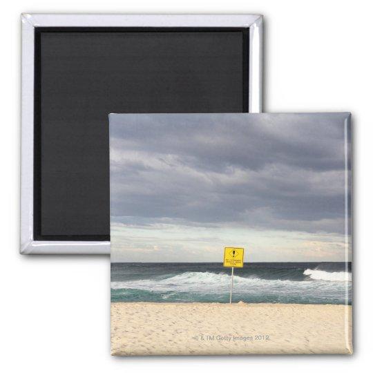 Stormy skies over Bronte Beach Magnet