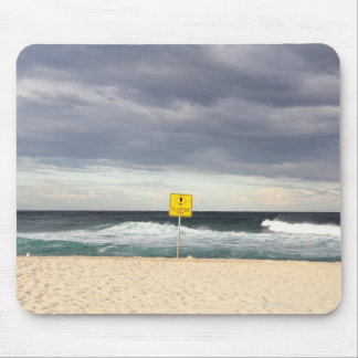 Stormy skies over Bronte Beach Mouse Pad