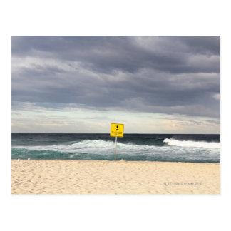 Stormy skies over Bronte Beach Postcard