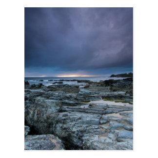 Stormy skies postcards