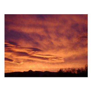 Stormy Skies Postcard