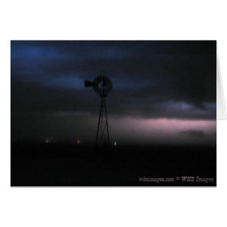 Stormy Skies-Scott City, Kansas Greeting Cards