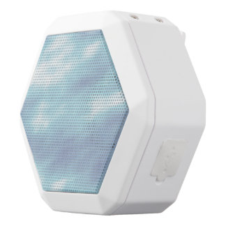 Stormy Skies White Bluetooth Speaker