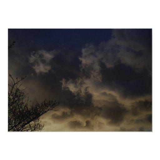 Stormy Sky Invitations