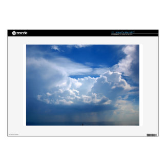 "Stormy sky with clouds decal for 15"" laptop"