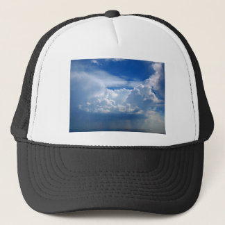 Stormy sky with clouds trucker hat