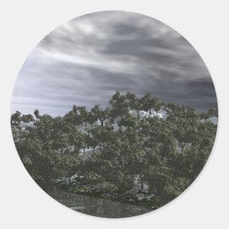 Stormy Skys Sticker