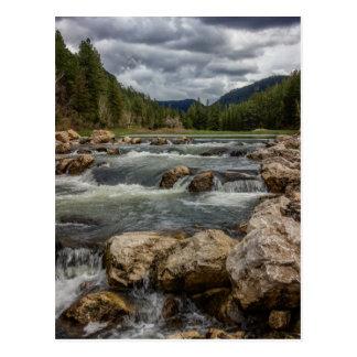Stormy Spearfish Creek Postcard