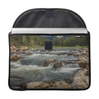 Stormy Spearfish Creek Sleeve For MacBooks