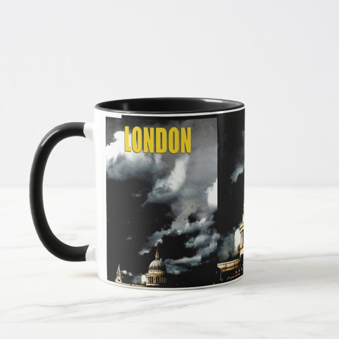 Stormy St Paul's Cathedral Mug
