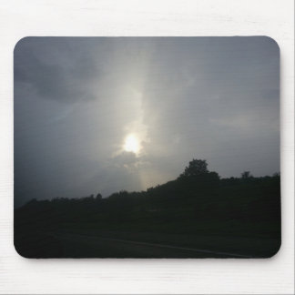 Stormy sunlight mouse pad