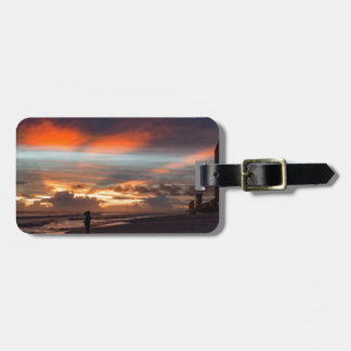 Stormy Sunset Bag Tag