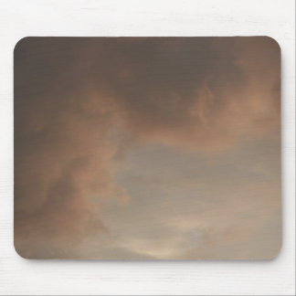 Stormy Sunset Clouds Mouse Pad