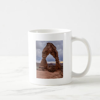 Stormy Sunset - Delicate Arch - Moab - Utah Coffee Mug