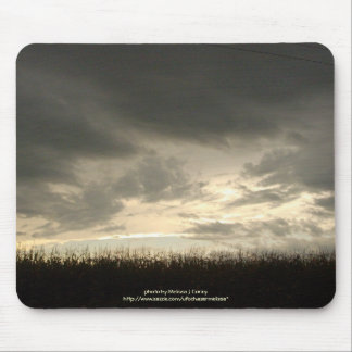 Stormy Sunset in Early Fall Mouse Pad