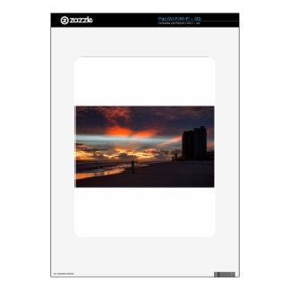 Stormy Sunset iPad Decal