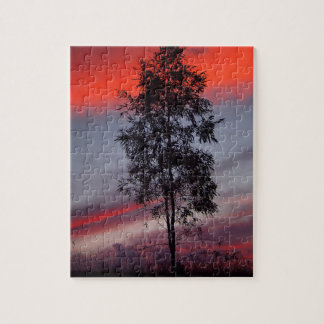 Stormy sunset jigsaw puzzle