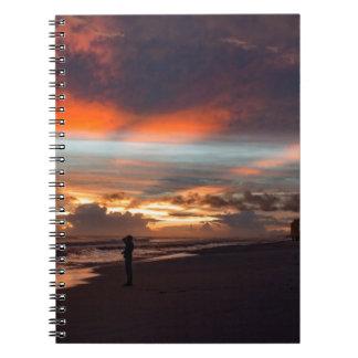 Stormy Sunset Notebook