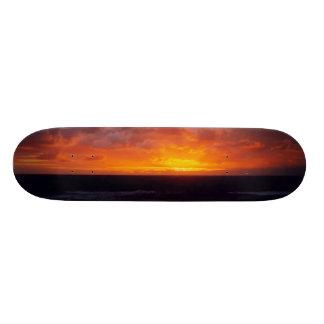 Stormy Sunset Skate Decks